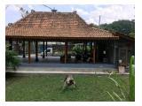 Vila di Lereng Merapi Jogjakarta